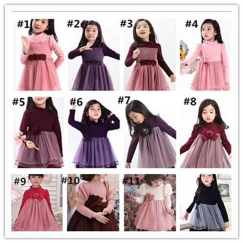 a80110e58 Discount Top Quality Autumn Winter Children S Dress Kids Clothing ...