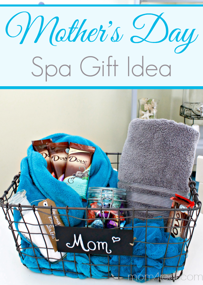 Superior Great Gift Ideas For Mom Part - 6: Motheru0027s Day Gift Idea ~ Spa Basket {a Lilu0027 Chocolate Too