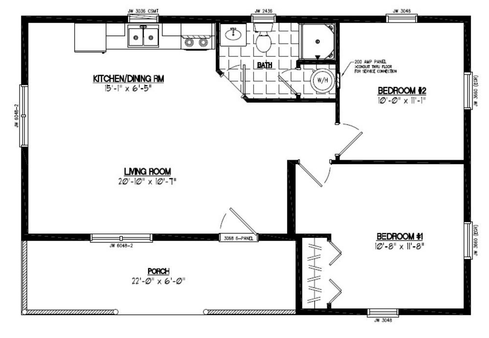 24x36 House Plans 24x36 Search Thousands Of House Plans House