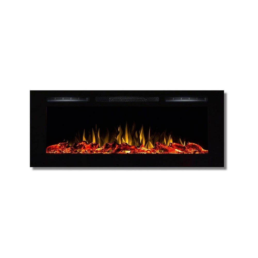 Regal Flame Fusion 50 Log Built In Ventless Recessed Wall Mounted