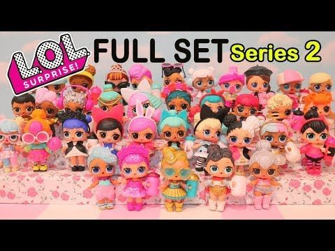 LOT 2 Pcs LOL Surprise LiL Sisters L.O.L 24k gold LUXE queen doll toy gift