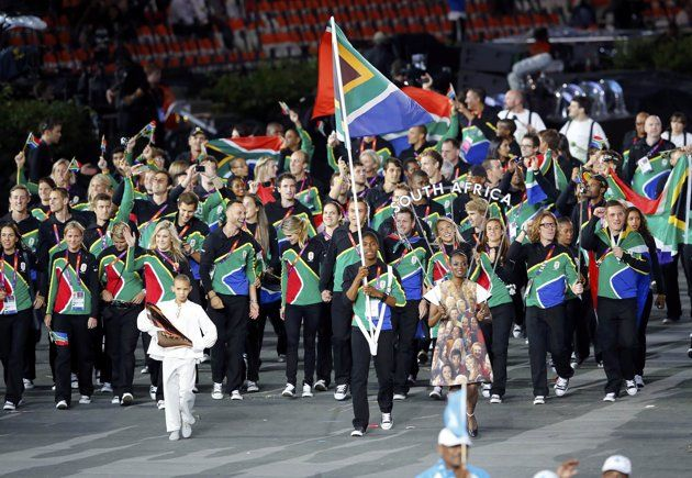 Parade Of Nations Mean Girls South Africa Flag Parades