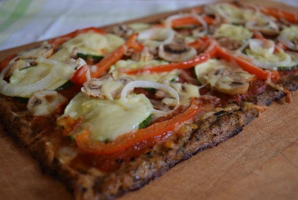 Skinny, glutenvrije bloemkoolpizza