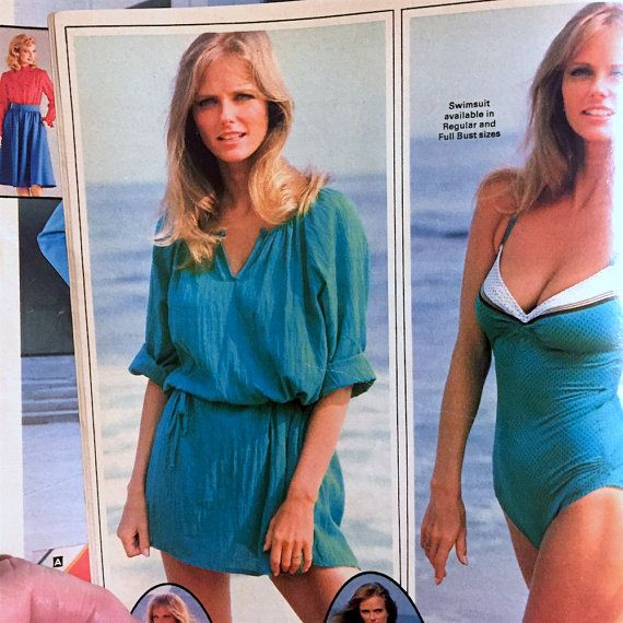 44a3a510f8 SEARS Catalogue 1983 Spring / Summer - Sexy Cheryl Tiegs Swimwear - Tools  Home Electronics Furniture