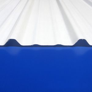 R Panel 8 Oz White Fiberglass 37 75 Quot X 96 Quot Sheet Metal
