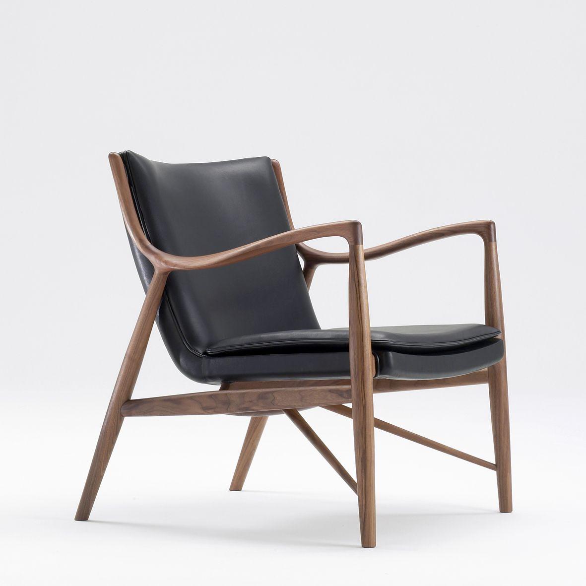 Finn Juhl 45 Chair Sillas Pinterest Sillas Butacas