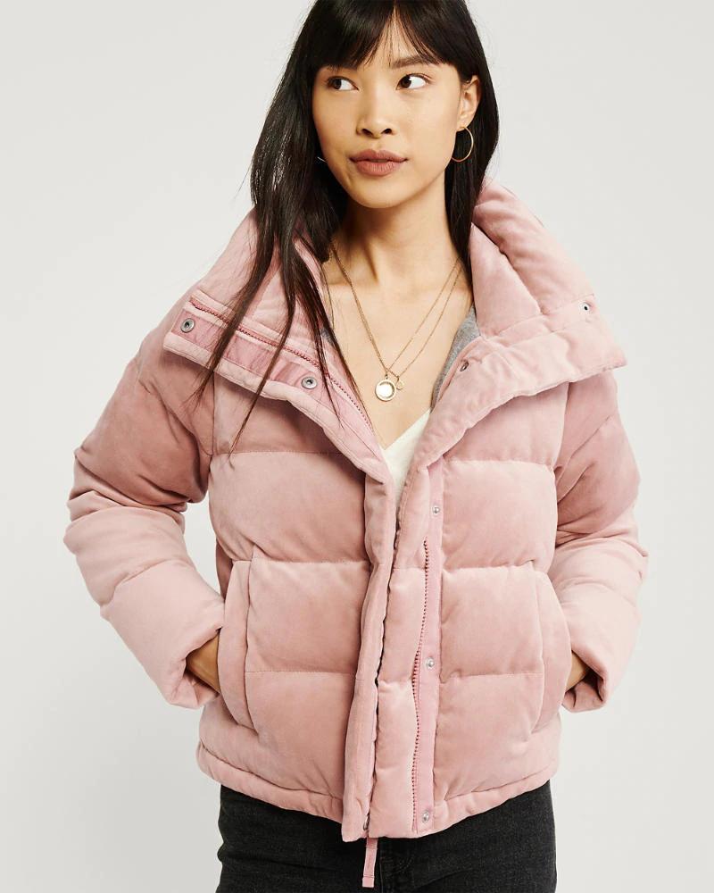 Womens Mini Faux Fur Puffer Jacket Womens Coats Jackets Abercrombie Com Jackets Blogger Outfits Fashion [ 1000 x 800 Pixel ]