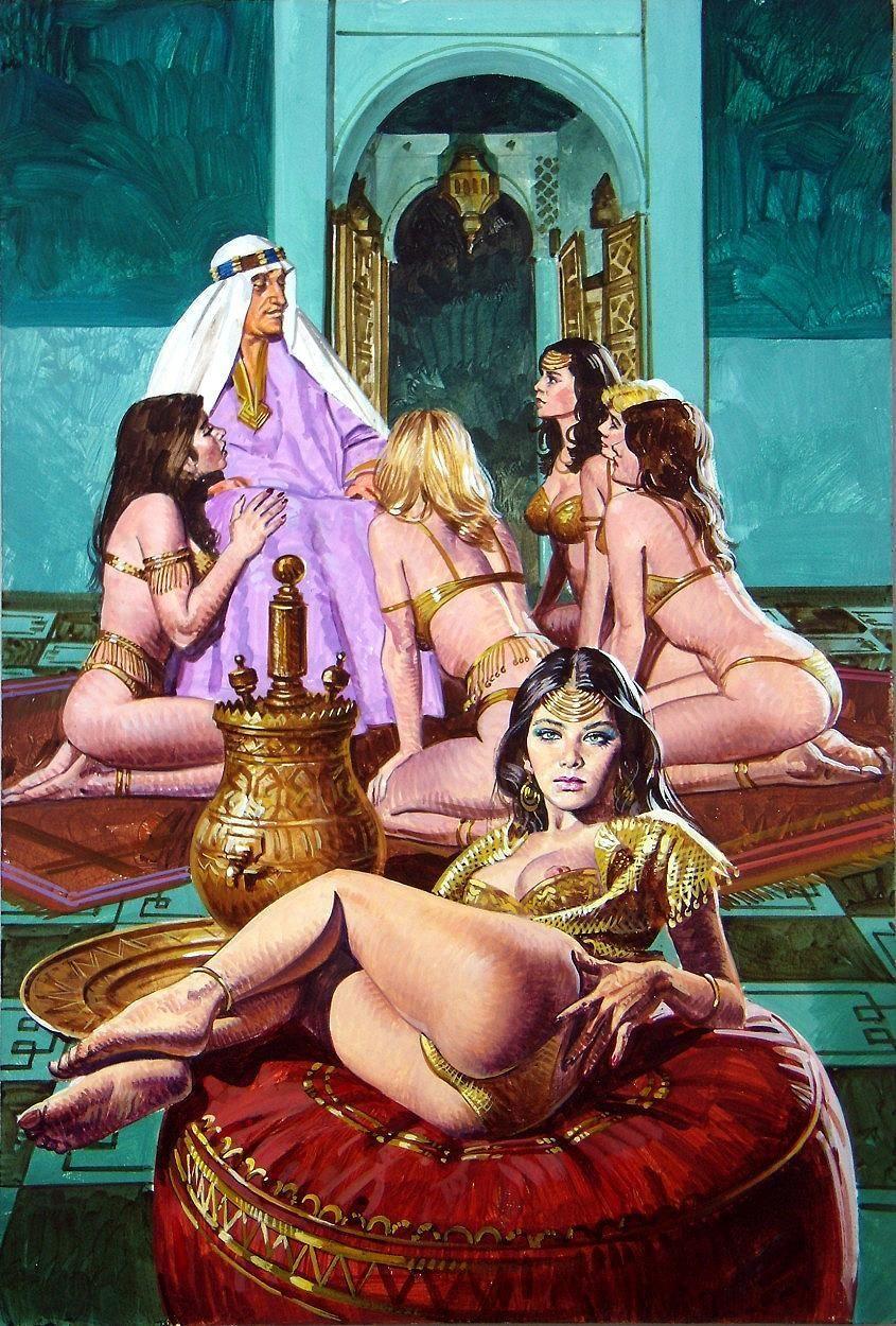 Erotic girls harem #15