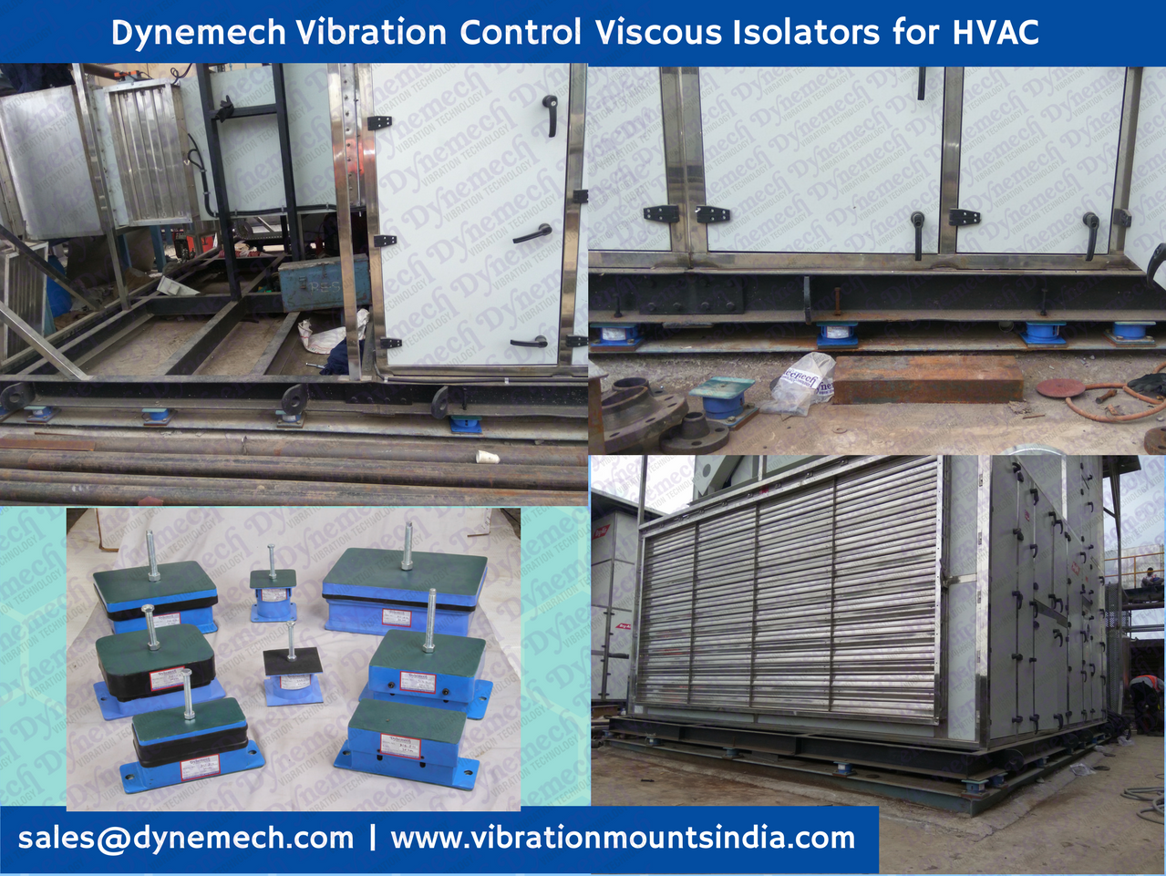 Vibration Isolation For Hvac Systems Dynemech Systems