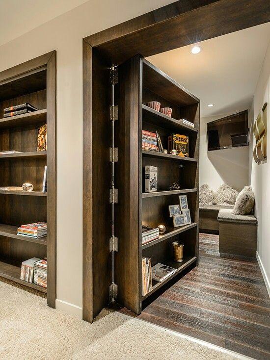 43 Insanely Cool Remodeling Ideas For Your Home Casas, Estanterías - muros divisorios de madera