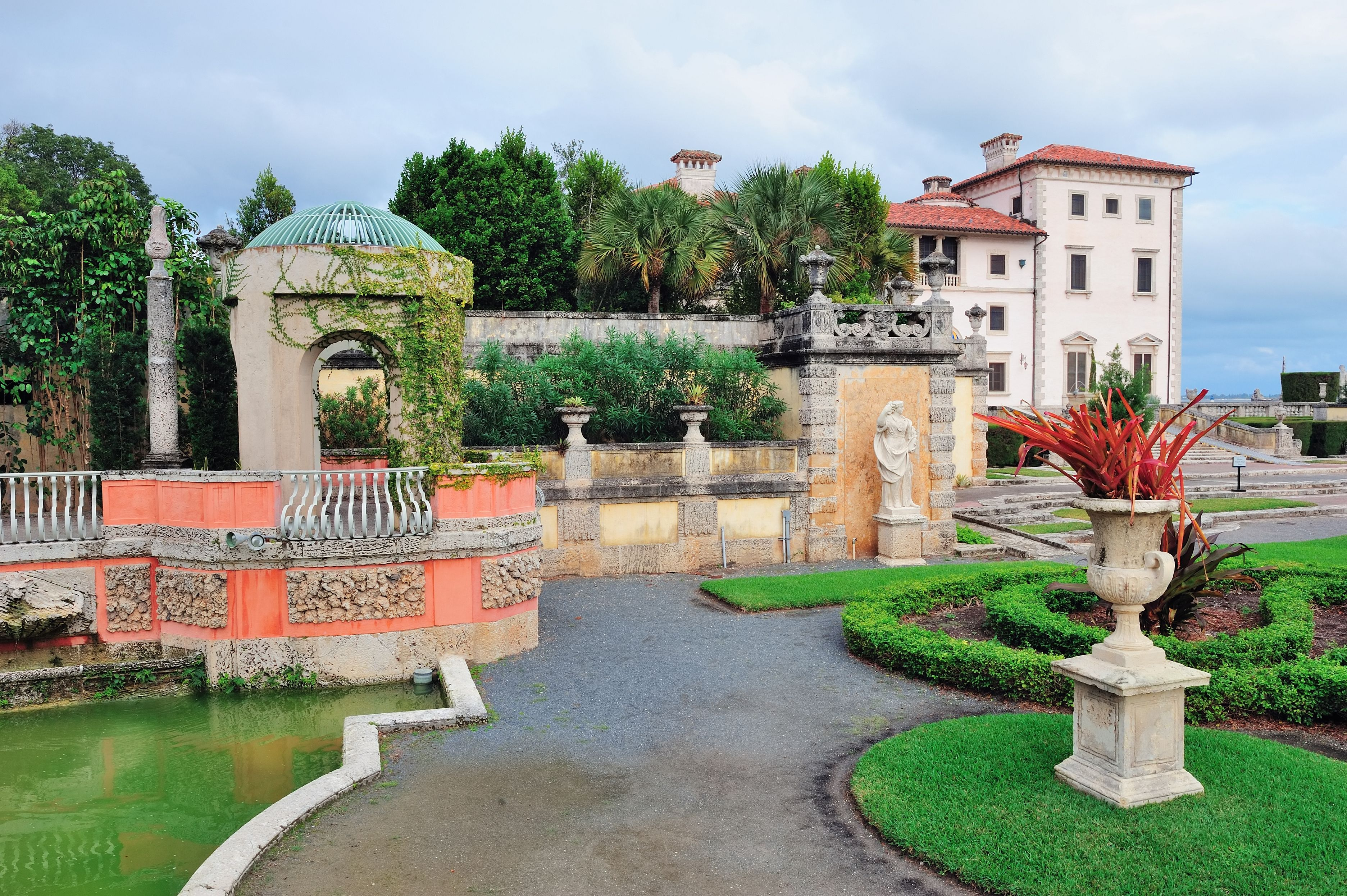 History Of Vizcaya Museum And Gardens