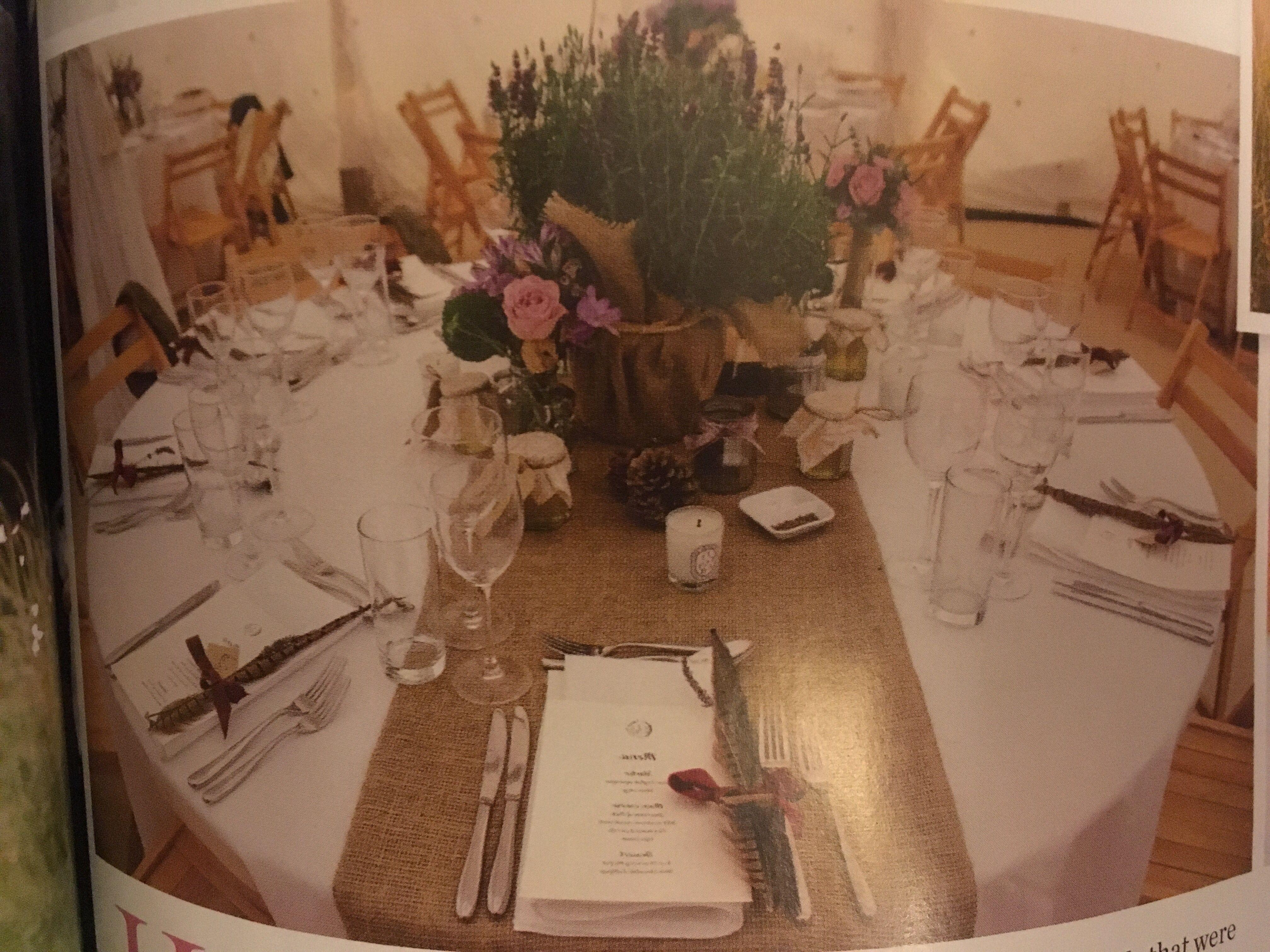 Hessian table cloth th anno kuku gala pinterest weddings