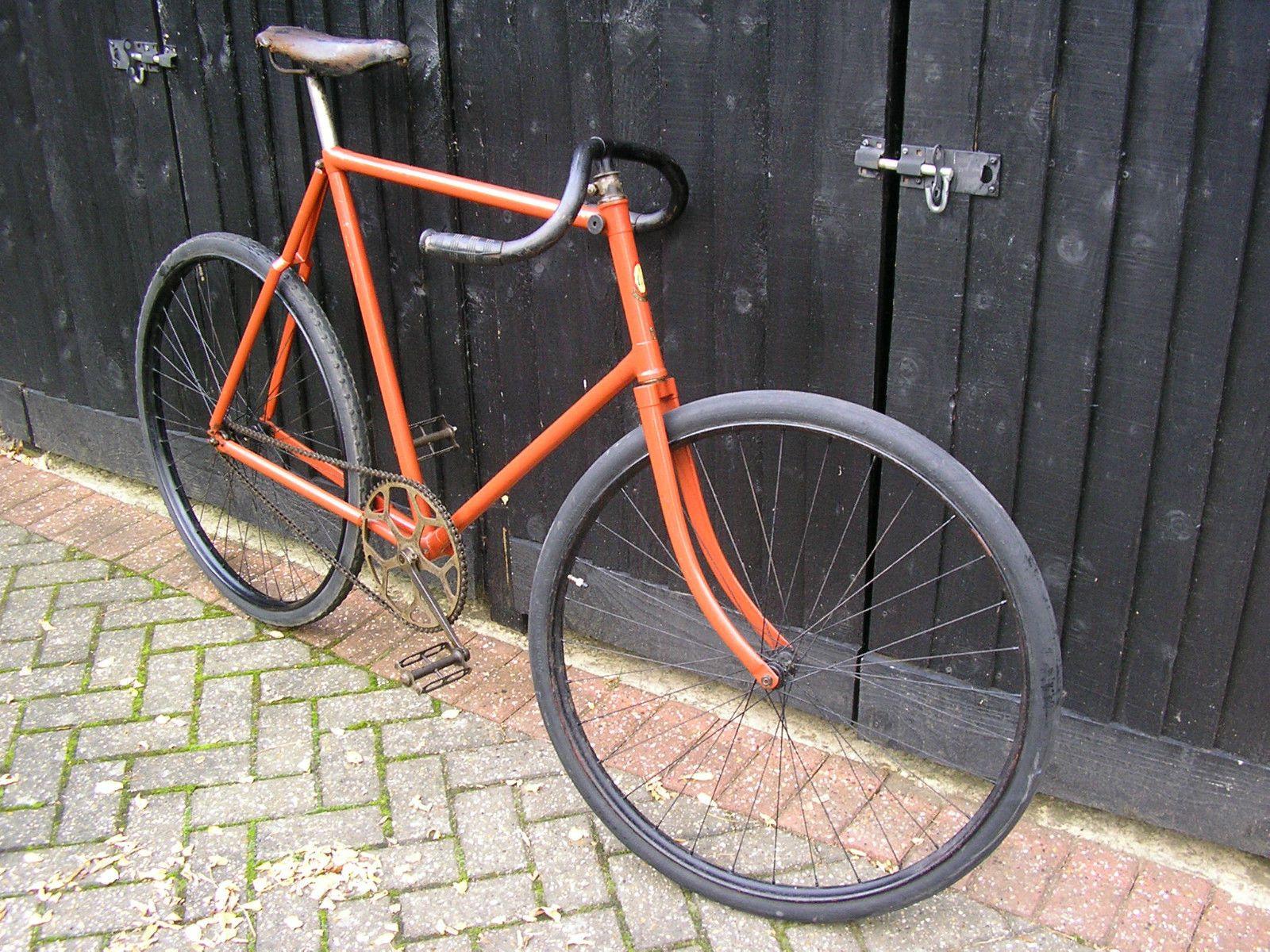 vintage Bicycle track