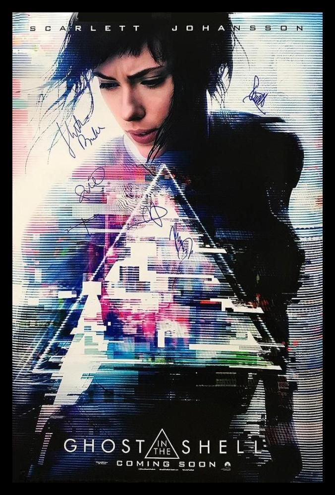 GHOST IN THE SHELL 2019 POSTER