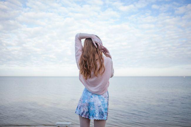 'She leaves glitter wherever she goes' from Belinda Hook on Whim Online Magazine