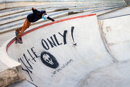 Skate only! #skateboard