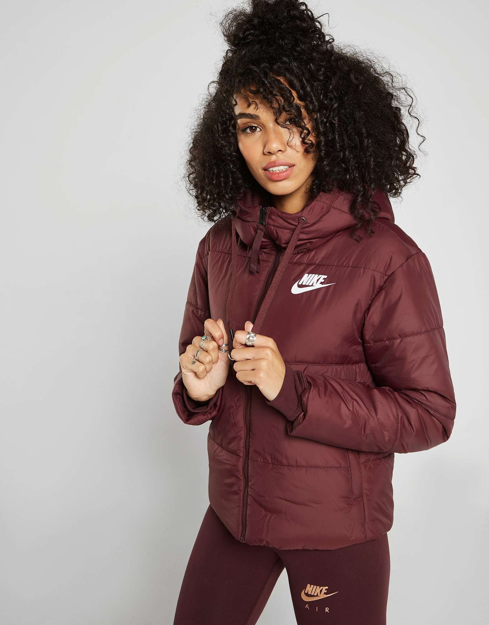 Reversible Jackets Jacket In Nike Padded 2019Coffee 0mNwn8