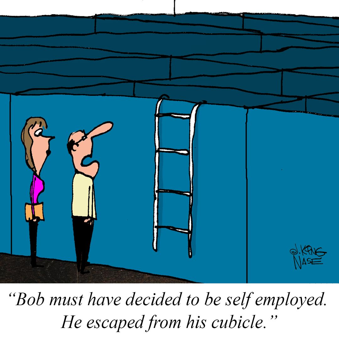 What did you do to escape to selfemployment!?!? Funny