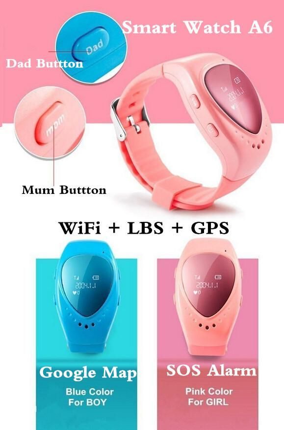 84c4444a6 Smart Watches List High Quality Smart Watch A6 Gps Tracker Watch For Kids  Child Bracelet Google Map Sos Alarm Wifi+Lbs+Gps Smart Watches Women From  ...