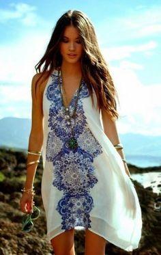 8417082b78a vestidos de noche para la playa modernos | Verano en 2019 | Vestidos ...