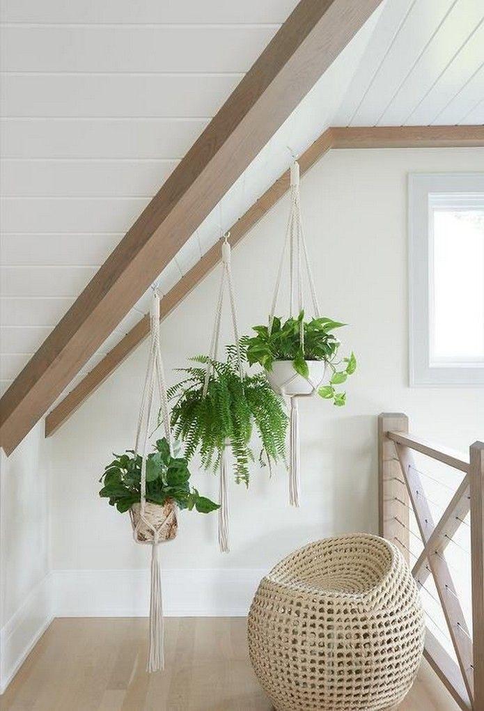 27 pretty indoor hanging plants ideas to decorate your home 20 #hangingplantsindoor