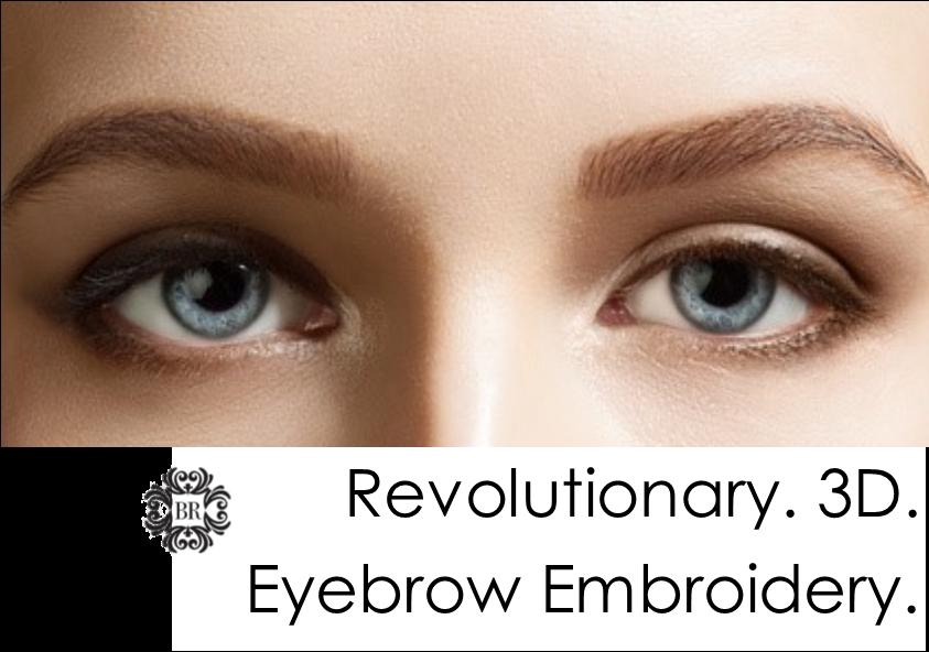 3d Eyebrow Tattoo Eyebrow Embroidery A Revolutionary New Semi