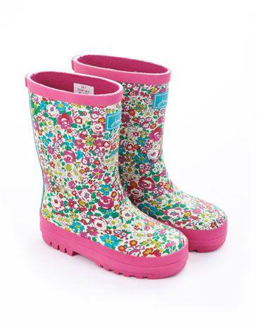 Zapatos rosas Joules infantiles 7HABu