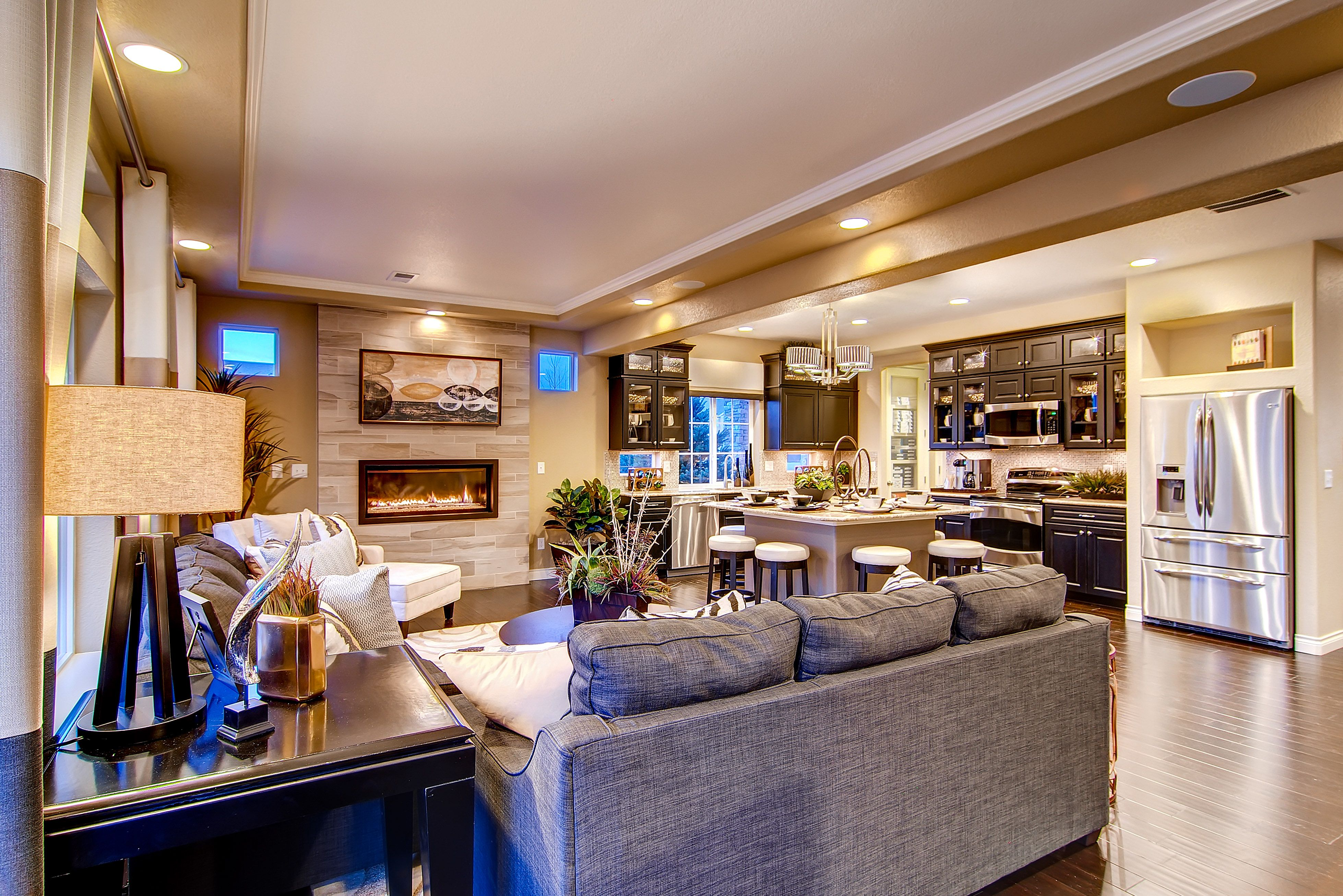 Rio Grande Great Room Oakwoodhomescos Located In Banning Lewis