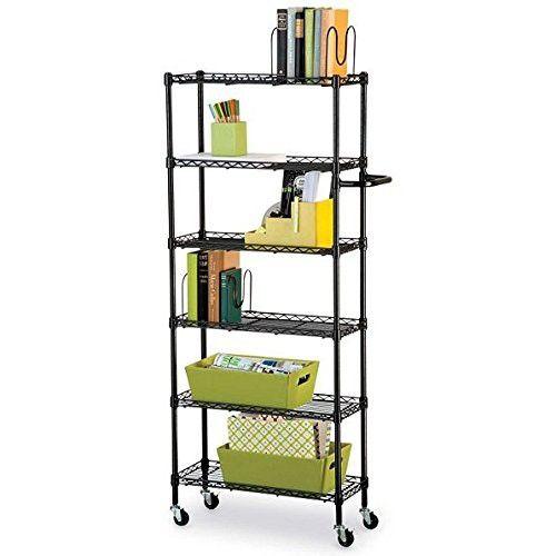Best 6 Shelf Mobile Rolling Kitchen Pantry Storage Cart Utility 400 x 300