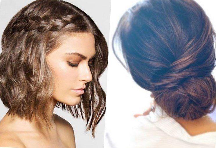 einfache hochsteckfrisuren kurze haare selber machen