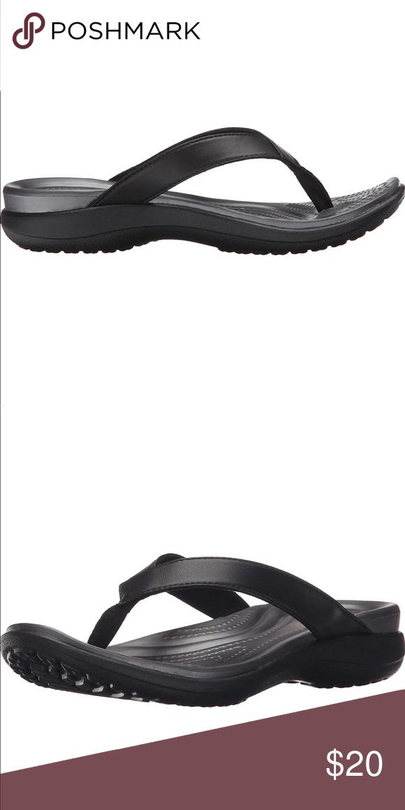 Nwt Women S Crocs Dual Comfort Flip Flops Crocs Women S Crocs Flip Flops