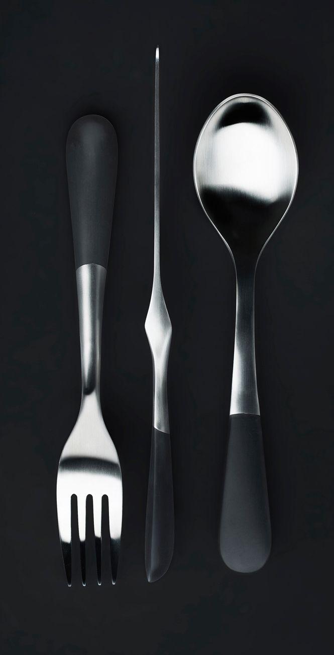 Stockholm Cutlery. Design Jesper Ståhl. For Design House Stockholm. Photo Örjan Henriksson.