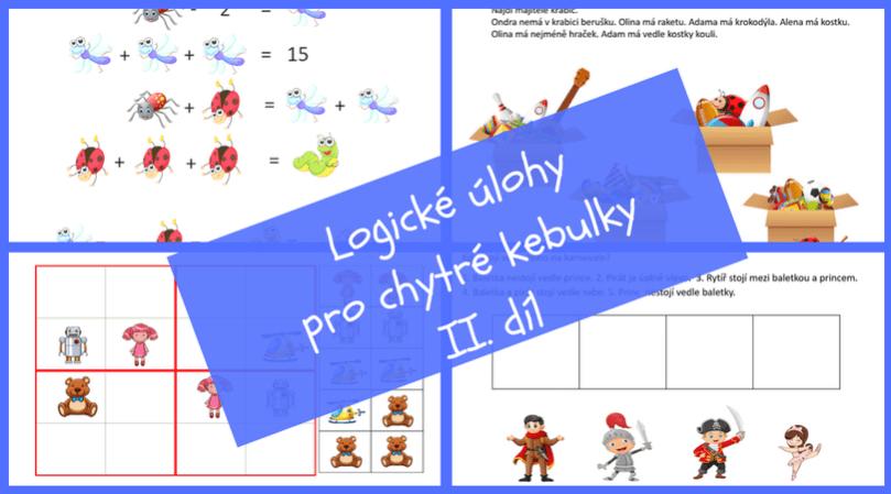 Ukažte svým dětem, že logika i matika může být skvělá hra a zábava. 50 obrázkových logických úloh pro nadšence od 6 do 100 let.