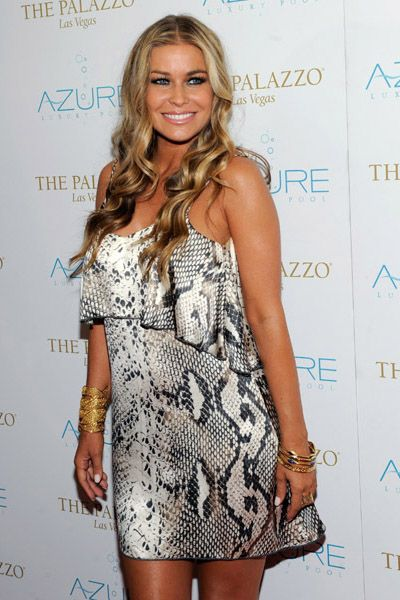 Carmen Electra hosts Stereo Loves Saturday at Azure Luxury Pool