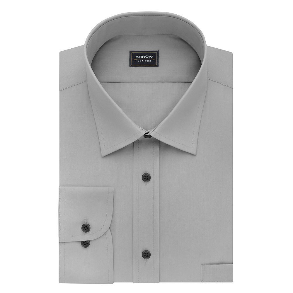 Arrow Mens Classic Fit Dress Shirt Pinterest Dress Shirt Sizes