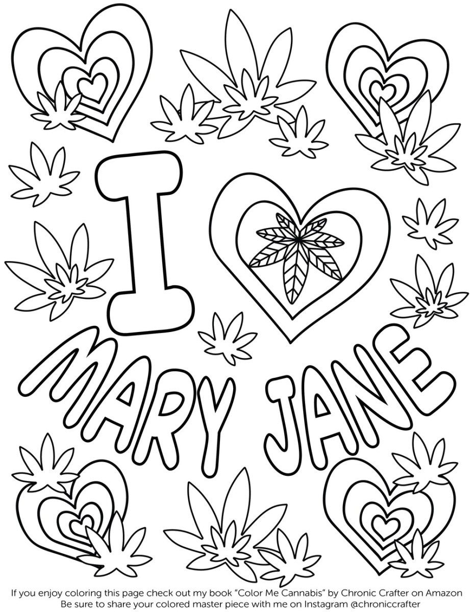 Weed Coloring Pages Coloring Page Fresh Stoner Coloring Pages Free Book Weed Page 37 - birijus.com #adultcoloringpages