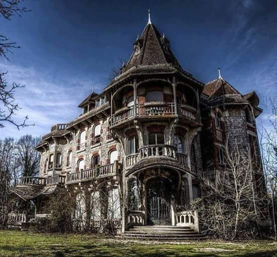 Beautiful Abandoned Gothic Victorian House Check us out on Fb- Unique  Intuitions #uniqueintuitions #