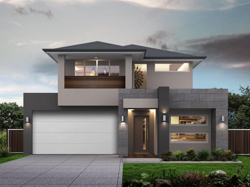 The Home Design Modern House Facades House Architecture Design