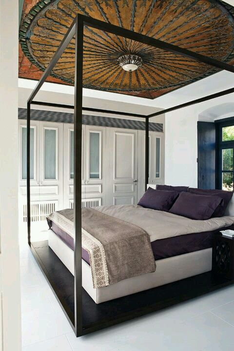 Amazing Bedroom Especially Love The Ceiling Designed By Tima