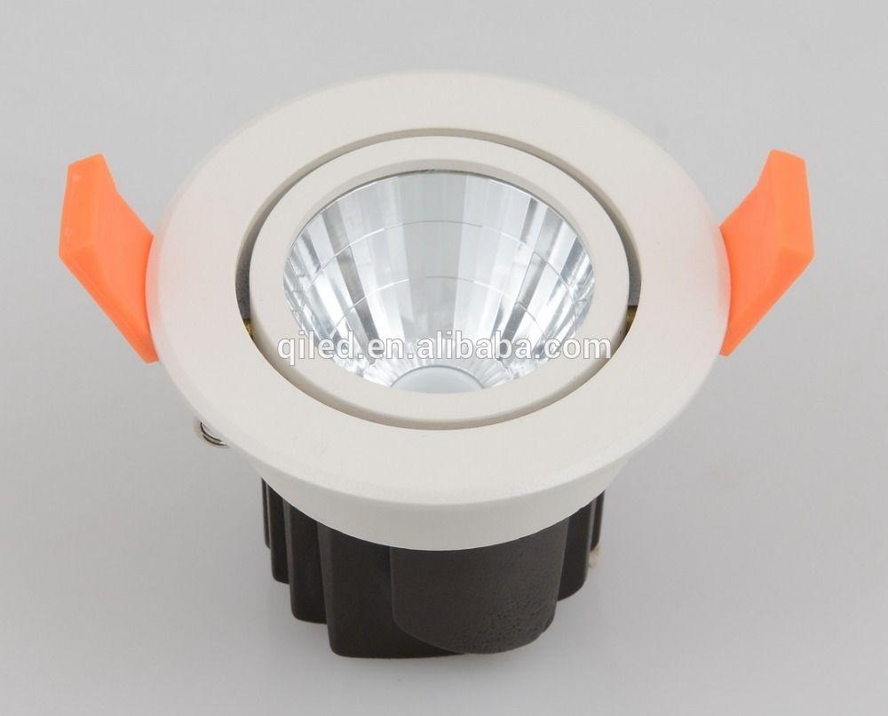 Ip54 Adjustable Cob Led Ceiling Lights Adjustable 12watt Aluminum Cob Led Downlight Anti Glare 3 Alu Led Down Lights Led Ceiling Led Ceiling Lights