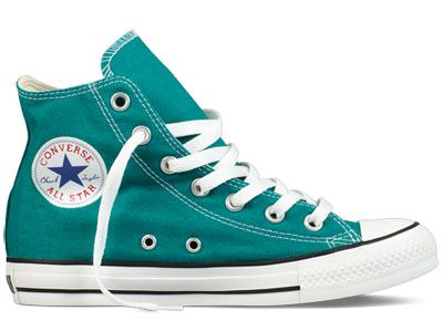 1f00d4fdc7e Converse high tops parasailing.  Tristanner13 on Wanelo Teal Converse