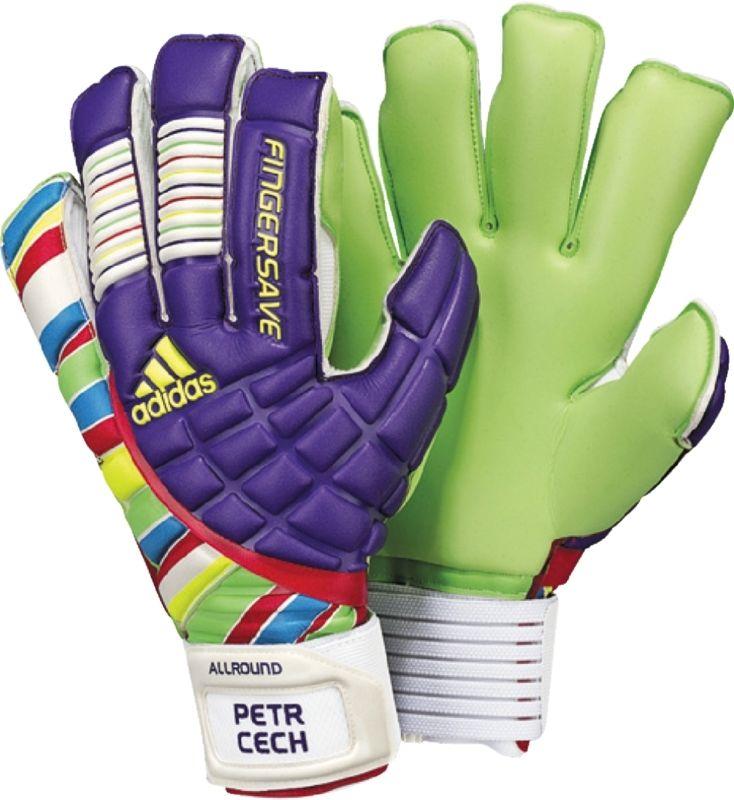 Adidas fingersave allround 2011 petr cech soccer gloves