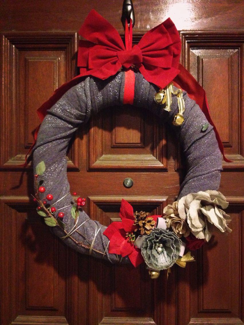 DIY Wreath! Cheap and Chic