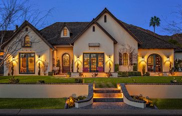 Houzz Home Design Decorating And Remodeling Ideas And Inspiration Kitchen And Bathroom Desi French Country Exterior French Country House French Style Homes