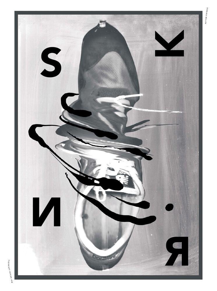 Dominik Müller    Overnight Design Jam. Die Arbeiten entstanden über Nacht im Rahmen des ersten Design Jams im Krieger des Lichts Headquarter. Das Ergebnis ist ein Designmagazin über Sneaker-Kultur ►  Jahr: 2013, Tags: Print, Sneakerness, Design Jam, Sneaker, Messe.