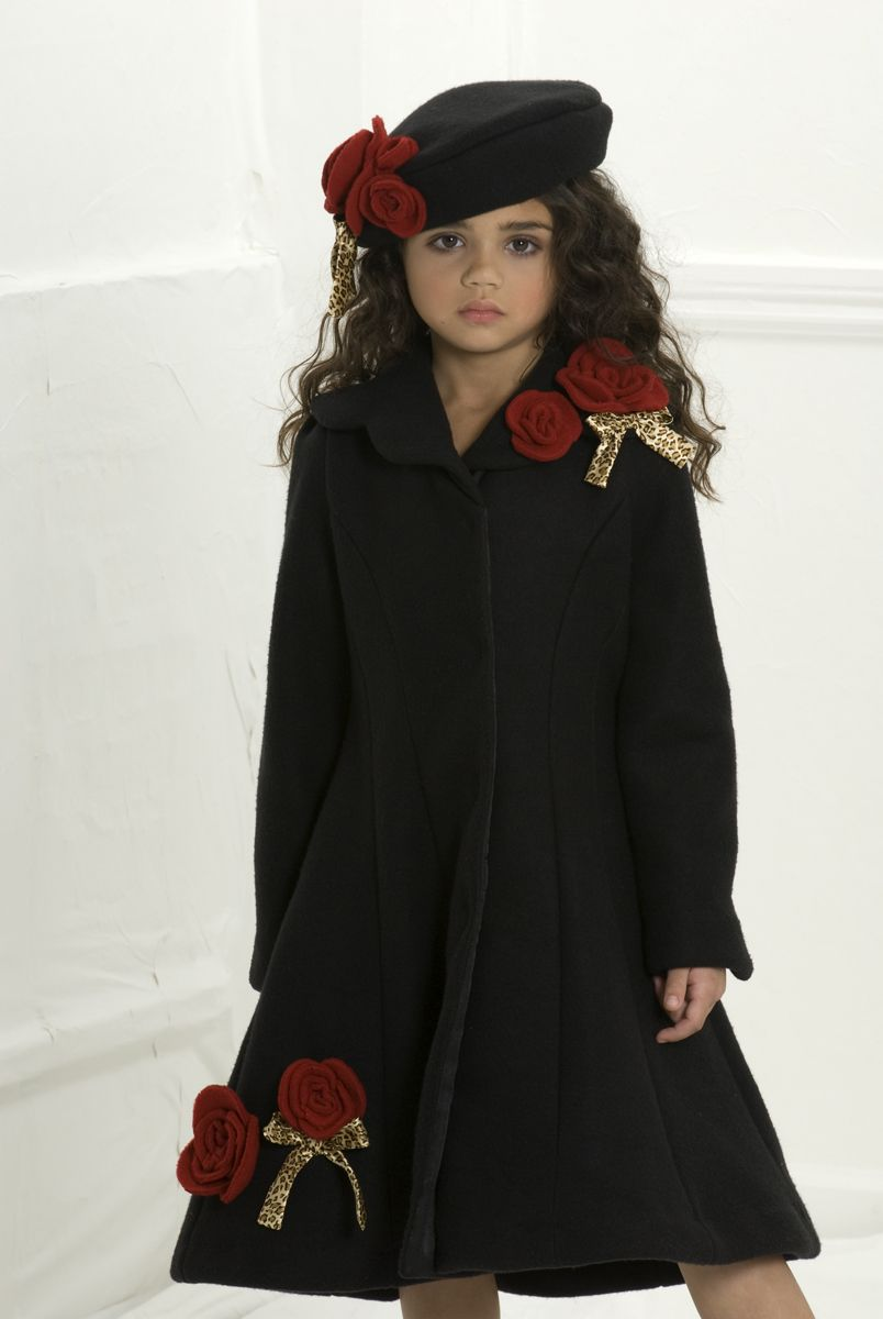 Little darling!! so chic! :D Little Girls Coat | Elyssia Elena's ...