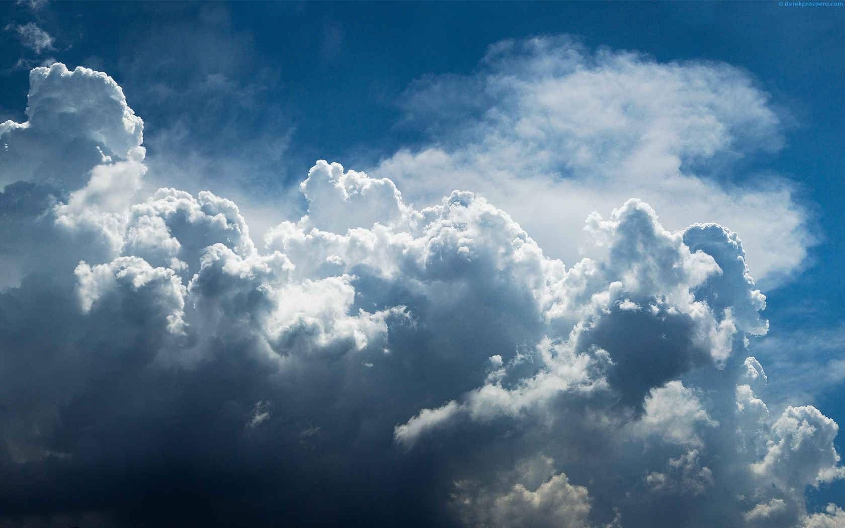 Fond d'écran hd nuage ciel Lucht, Wolken