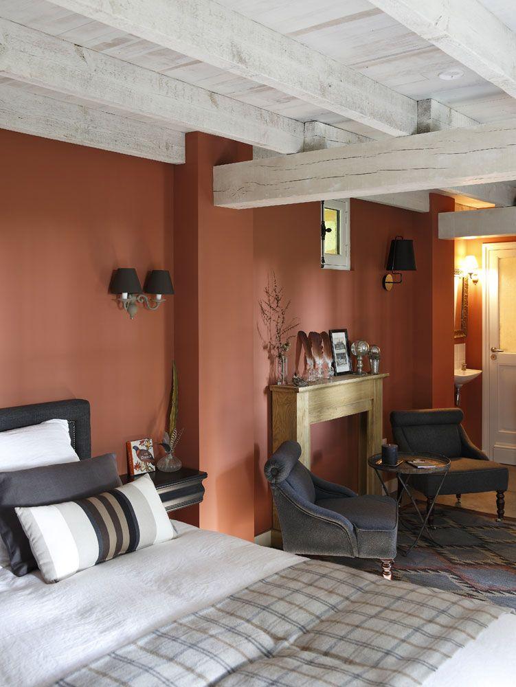 La cabaña perfecta en la campiña francesa Rústico Pinterest - schlafzimmer farben feng shui