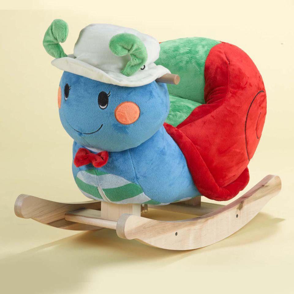 Rockabye Sonny Snail Rocking Toy   Baby rocking horse. Rocking toy. Baby design
