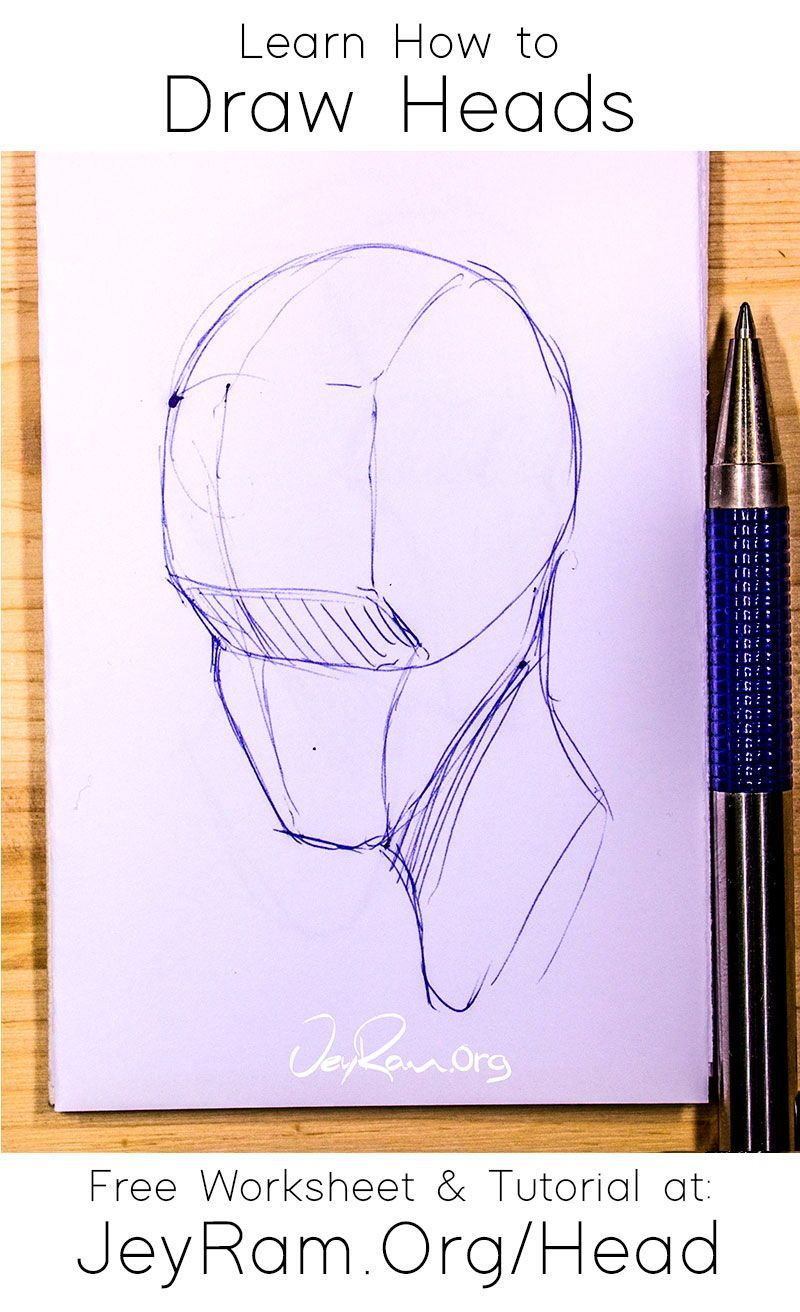 Pin On How To Draw Heads